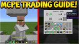 MCPE VILLAGE TRADING GUIDE! Minecraft Pocket Edition 1.0.4 Village Trading Tutorial (Pocket Edition)