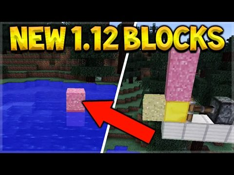 Minecraft 1.12 Update – The NEW Blocks Gameplay Clip Kinetic Sand Type (MCPE/PC Edition)