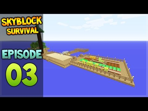 Minecraft Xbox – Skyblock Survival – Island Extension Episode 3