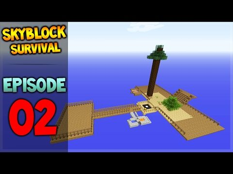 Minecraft Xbox – Skyblock Survival – The Mighty Farm Episode 2