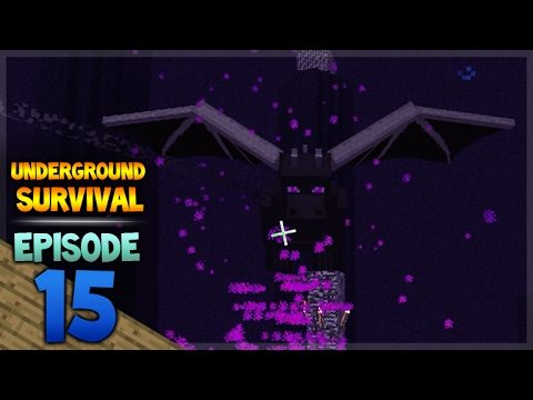 Minecraft Xbox – Underground Survival – To The End Episode 15