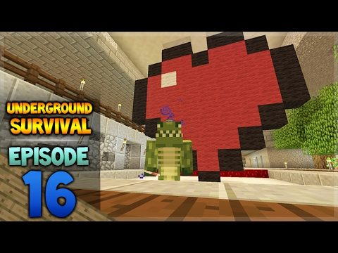 Minecraft Xbox – Underground Survival – Happy Valentines Day Episode 16