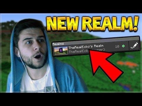 MY MCPE REALMS! Minecraft Pocket Edition – NEW REALM START! 1.0 Realms (Pocket Edition)