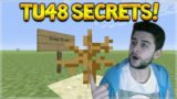 NEW SECRET FEATURE! Minecraft Console Edition – TU48 New Secret Feature Added