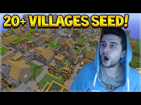 OVER 20 VILLAGES SEED! Minecraft Pocket Edition 20+ Villages, Temples, Mineshafts! (Pocket Edition)