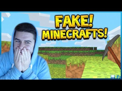 CHECKING OUT THE WORST MINECRAFT COPIES ON GOOGLE!