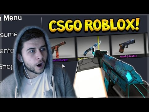 CSGO IN ROBLOX! Counter Blox Roblox Offensive Crate ...