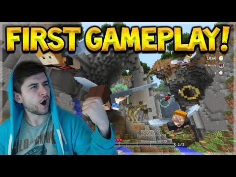 GLIDE MINI-GAME EARLY PREVIEW!! Minecraft Console Edition Glide Mini-Game GAMEPLAY (Console Edition)