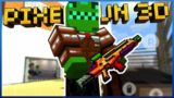 HELLRAISER MACHINE GUN MADE ME UNBEATABLE!! Pixel Gun 3D
