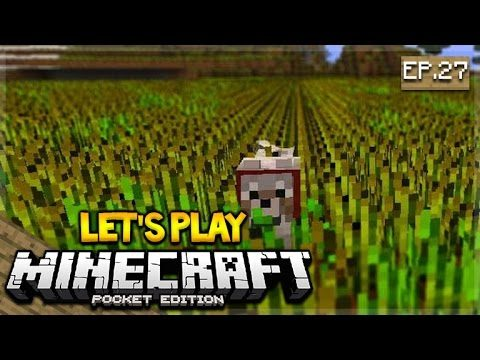 Let's Play Minecraft Pocket Edition 1.0.5 – My Back Garden Episode 27 (Pocket Edition)