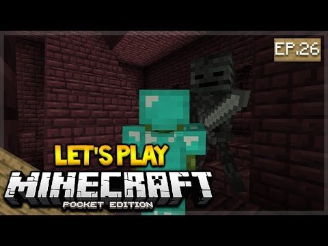 LIVE NOW – Let's Play Minecraft Pocket Edition 1.0.4 – The Skull Hunter! Episode 26 (Pocket Edition)