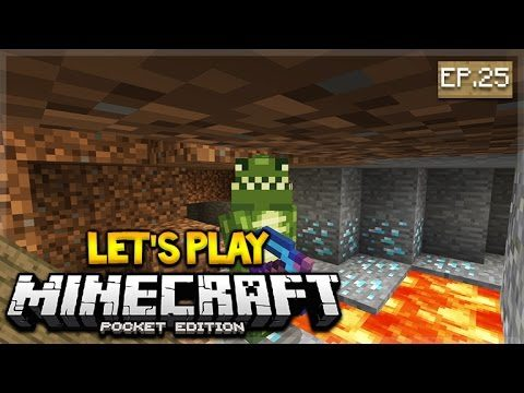 LIVE NOW – Let's Play Minecraft Pocket Edition 1.0.4 – The Diamond Miner Episode 25 (Pocket Edition)