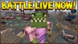 LIVE NOW – Minecraft Console Edition – NEW Battle Mini-Game Map Pack W/ Subscribers!