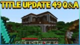 Minecraft Console Edition – Title Update 49 Q&A Woodland Mansion & Combat Features (Console Edition)