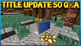 Minecraft Console Edition – Title Update 50 Q&A Custom Shields & PC Texturepacks (Console Edition)