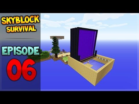 Minecraft Xbox – Skyblock Survival – Gold Farming! Episode 6
