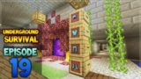 Minecraft Xbox – Underground Survival – The Power Of Mending! Episode 19