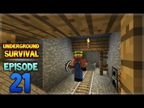 Minecraft Xbox – Underground Survival – On The Rails Episode 21