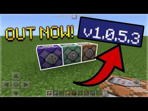 NEW Minecraft Pocket Edition Update RELEASED 1.0.5.3 New Minecraft PE Update OUT NOW!