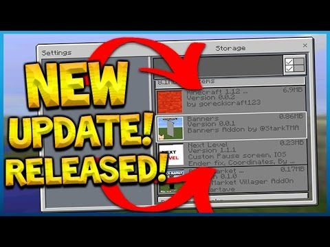 NEW UPDATE RELEASED! Minecraft Pocket Edition 1.0.4.1 NEW Menus & Fixes (Pocket Edition)