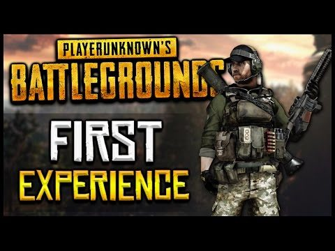 PLAYERUNKNOWN'S BATTLEGROUNDS – First Experience LIVE Gameplay