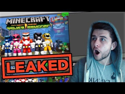 THEY LEAKED IT BY MISTAKE!! Minecraft Pocket Edition Power Rangers Coming!! (Pocket Edition)