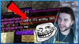 THEY THOUGHT IT WAS ENTITY 303! The Ultimate Troll On Minecraft Players (Minecraft Trolling)