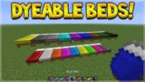 WORKING DYEABLE BEDS!! Minecraft 1.12 Dye-able Beds Preview Showcase! (Minecraft PC Mod)