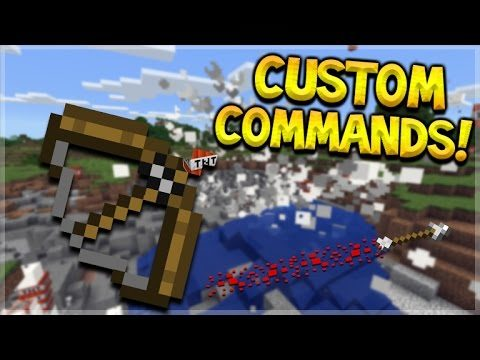 CUSTOM MCPE ARROWS!! Minecraft Pocket Edition – 3 Amazing Command Block Arrows (Pocket Edition)