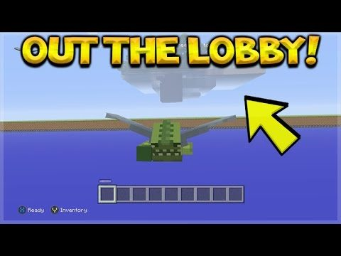 HOW TO GET OUT OF THE NEW MINI-GAME LOBBY! Minecraft Console Edition ESCAPE THE MAP!