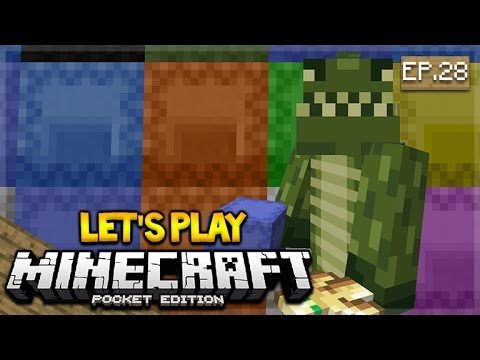 Let's Play Minecraft Pocket Edition 1.1 – A Whole New Update Episode 28 (Pocket Edition)