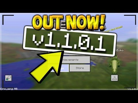 MCPE 1.1 BETA BUILD 2 – Minecraft Pocket Edition UPDATE 1.1.0.1 OUT NOW (Pocket Edition)
