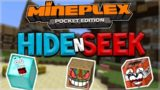 MCPE HIDE AND SEEK!! Minecraft Pocket Edition – Mineplex PE Block Hunt Mini-Game (Pocket Edition)