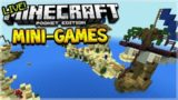 MCPE MINI-GAMES!! Minecraft Pocket Edition – Mini-Games Fun W/ Subscribers! (Pocket Edition)