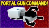 MCPE PORTAL GUN NO MODS! Minecraft Pocket Edition How To Make A Portal Gun With Command Blocks!