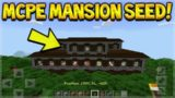MCPE WOODLAND MANSION SEED! Minecraft Pocket Edition – NEW Woodland Mansion SEED (Pocket Edition)