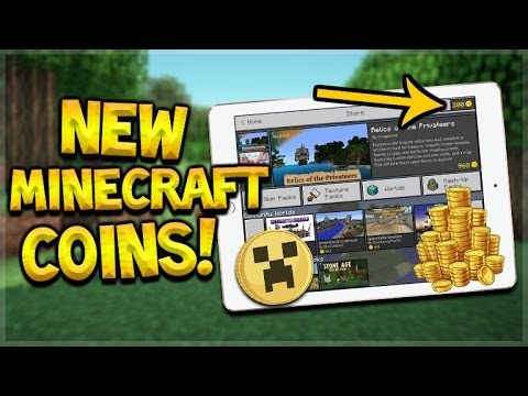 MINECRAFT COINS COMING!! Minecraft Pocket Edition NEW Marketplace BETA COMING!! (Pocket Edition)