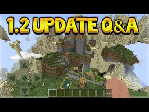 Minecraft Pocket Edition – UPDATE 1.2 Q&A Amplified Worlds & Hardcore Mode (Pocket Edition)