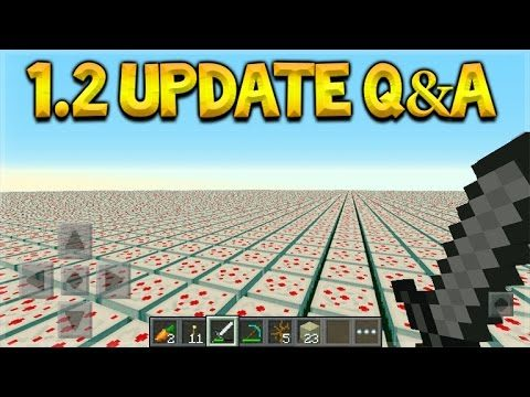 Minecraft Pocket Edition – UPDATE 1.2 Q&A Custom Flat Worlds & Spectator Mode (Pocket Edition)
