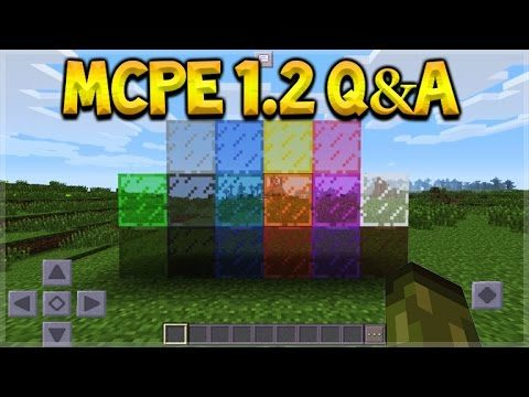 Minecraft Pocket Edition – UPDATE 1.2 Q&A Stained Glass & Music Discs (Pocket Edition)