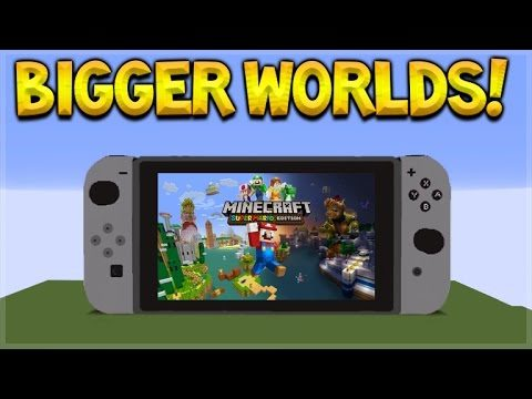 Minecraft Switch Edition – EVERYTHING YOU NEED TO KNOW BIGGER WORLDS & MORE! (Minecraft Switch)