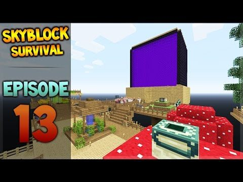 Minecraft Xbox – Skyblock Survival – Hide N Seek Episode 13