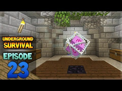 Minecraft Xbox – Underground Survival – The Adventures End Episode 23