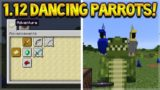 NEW DANCING PARROTS!! Minecraft 1.12 Update – Snapshot 17w14a – NEW Advancement Challenges!