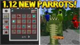 NEW PARROTS MOB!! Minecraft 1.12 Update – Snapshot 17w13a – NEW Crafting Guide & Mobs!