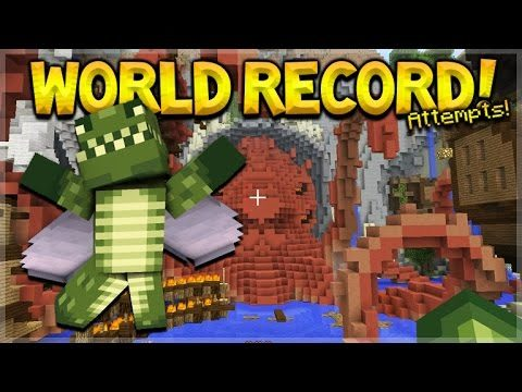 NEW RACE FOR THE WORLD RECORD!! Minecraft Console Edition – GLIDE Mini-Game Record