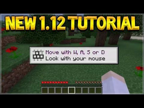 NEW TUTORIAL MODE! Minecraft 1.12 Update – NEW Tutorial Guide Coming ( 1.12 Update)