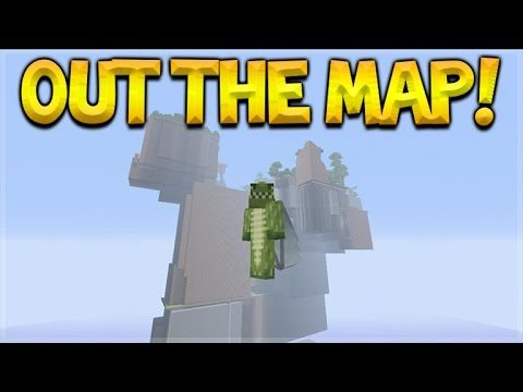 OUT OF THE GLIDE MINI-GAME MAP!! Minecraft Console Edition