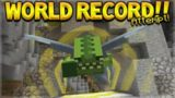 RACE FOR THE WORLD RECORD!! Minecraft Console Edition – GLIDE Mini-Game Record Attempt