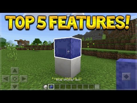 THE TOP 5 IMPORTANT FEATURES ADDED IN 1.1 Minecraft Pocket Edition